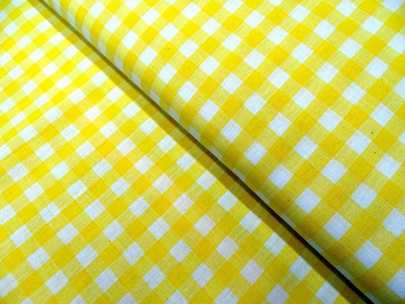 große Karos  gelb