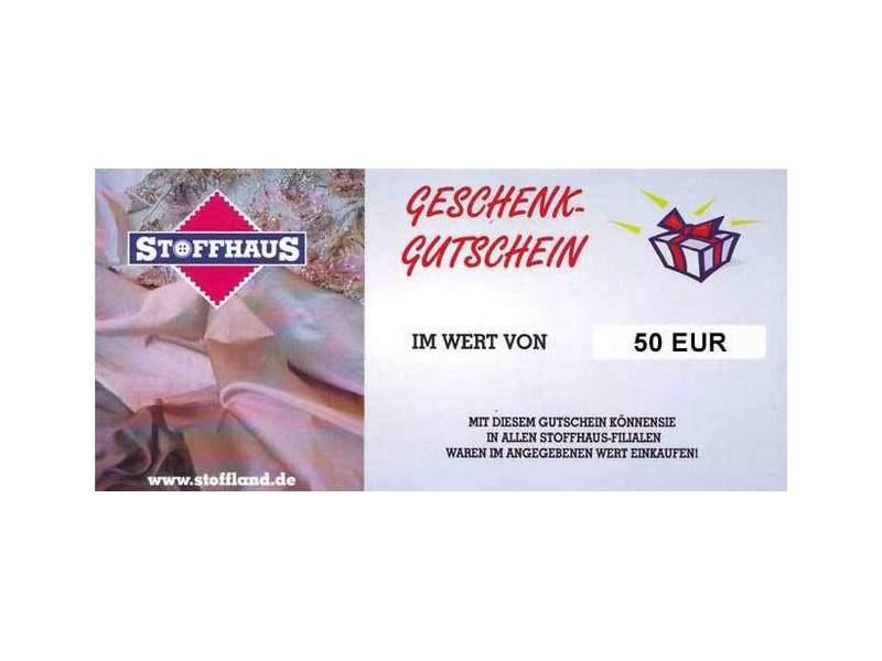 Online Gutschein 50€