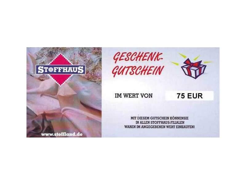 Online Gutschein 75€