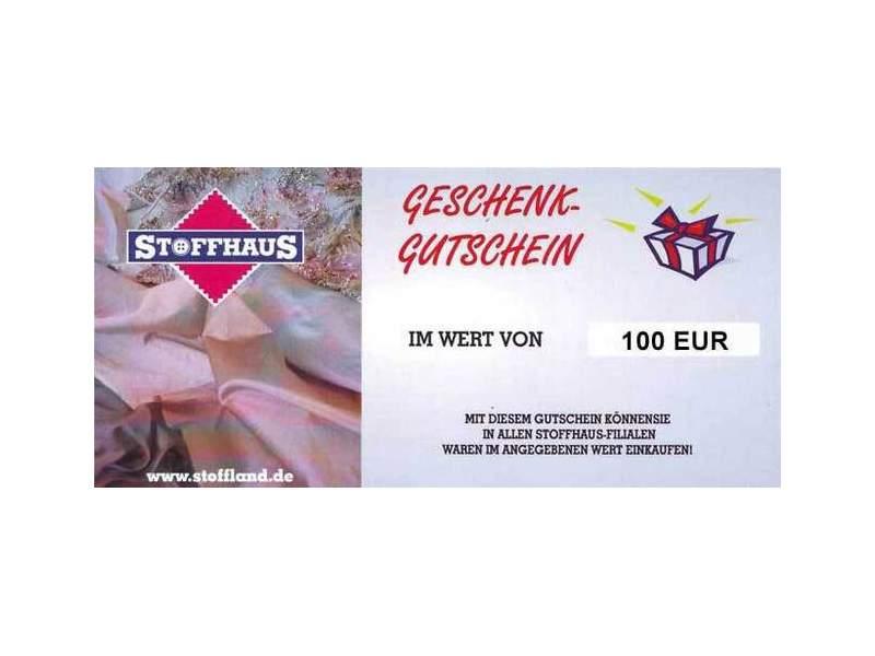 Online Gutschein 100€