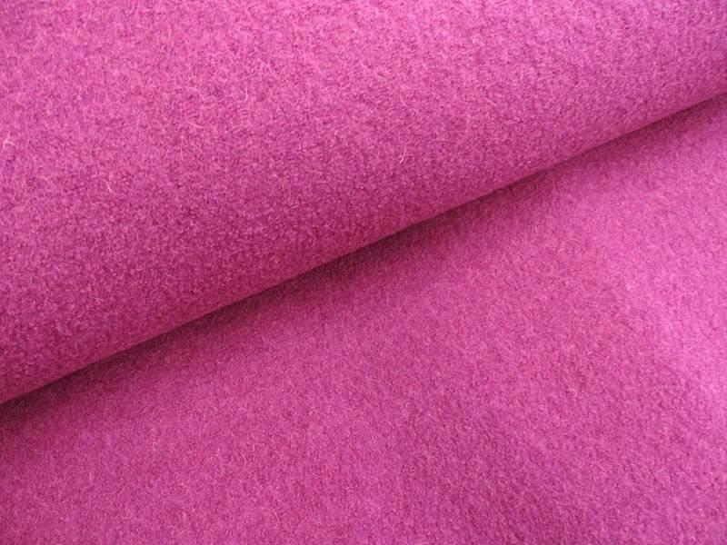 Wollstoff - Walkloden pink