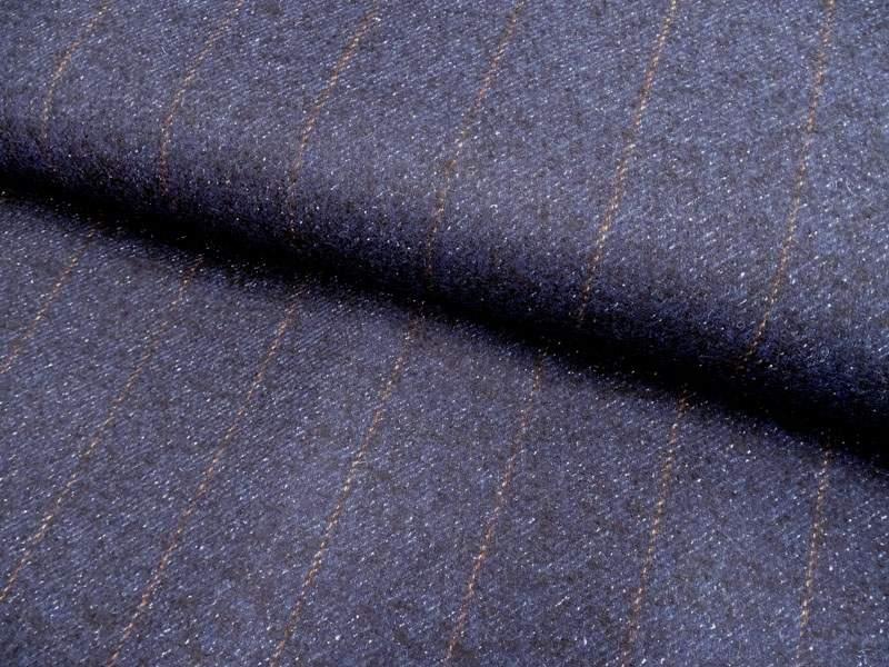 Wollstoff - Walkloden Streifen